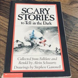 Scary Stories to Tell in the Dark • Vintage Book